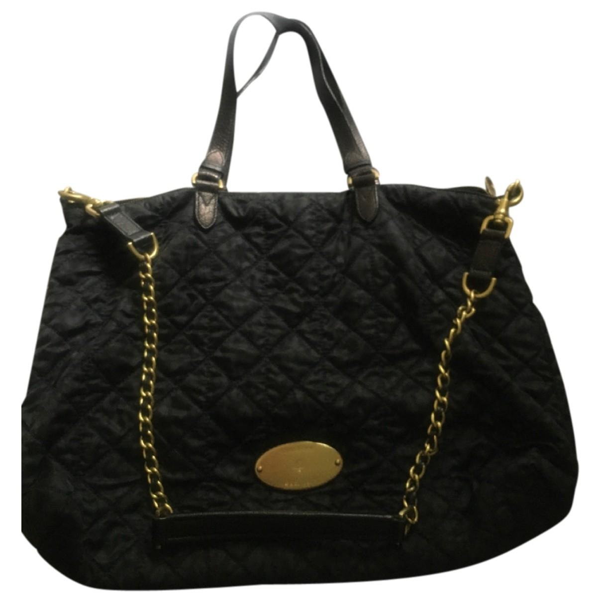 Mulberry Willow Black Cloth handbag for Women \N