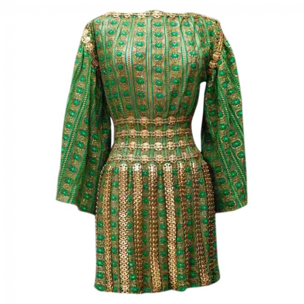 Paco Rabanne \N Green Lace dress for Women 36 FR