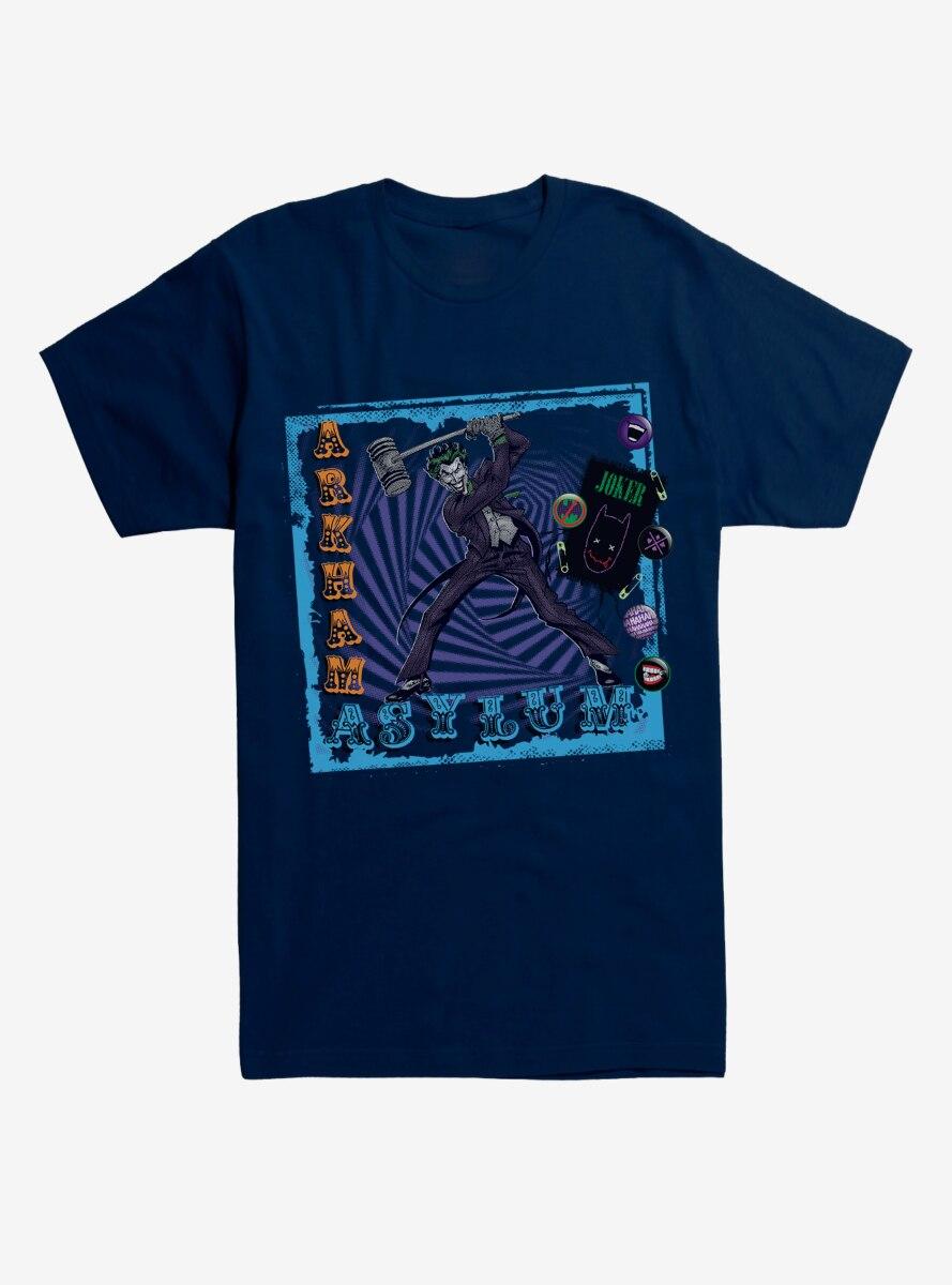 DC Comics Batman Joker Arkham Asylum T-Shirt