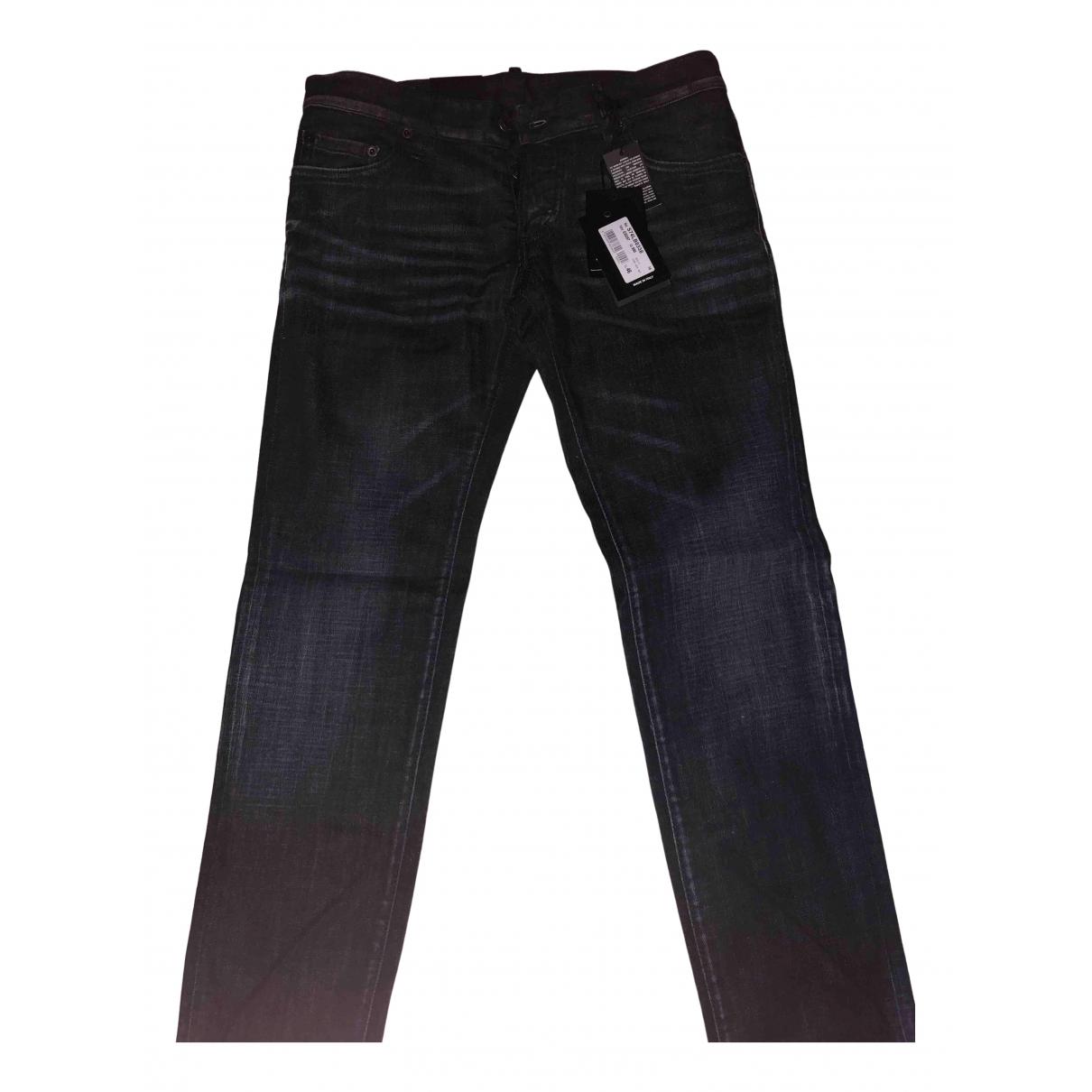 Dsquared2 - Jean   pour homme en coton - noir