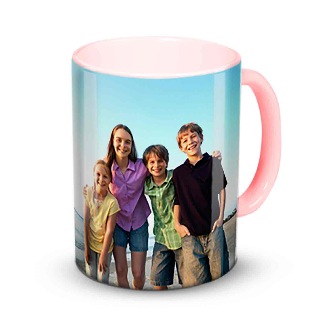 Love 11 oz. Pink Accent Mug, Gift -United States Of Love