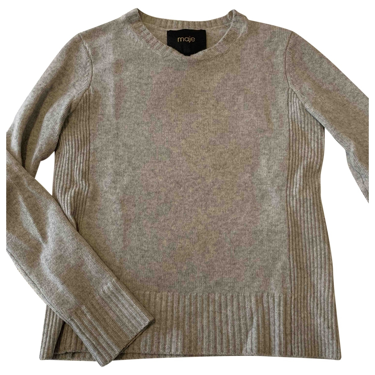 Maje \N Grey Cashmere Knitwear for Women 1 0-5
