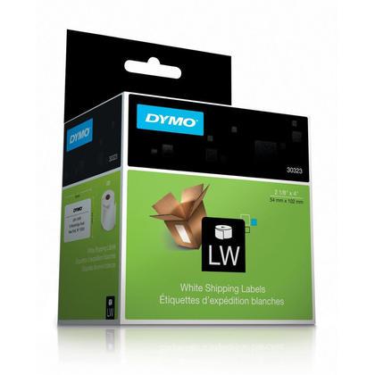 DYMO 30323 LabelWriter originale etiquettes d'exp edition, 2-1/8'' x 4'', Noir sur blanc