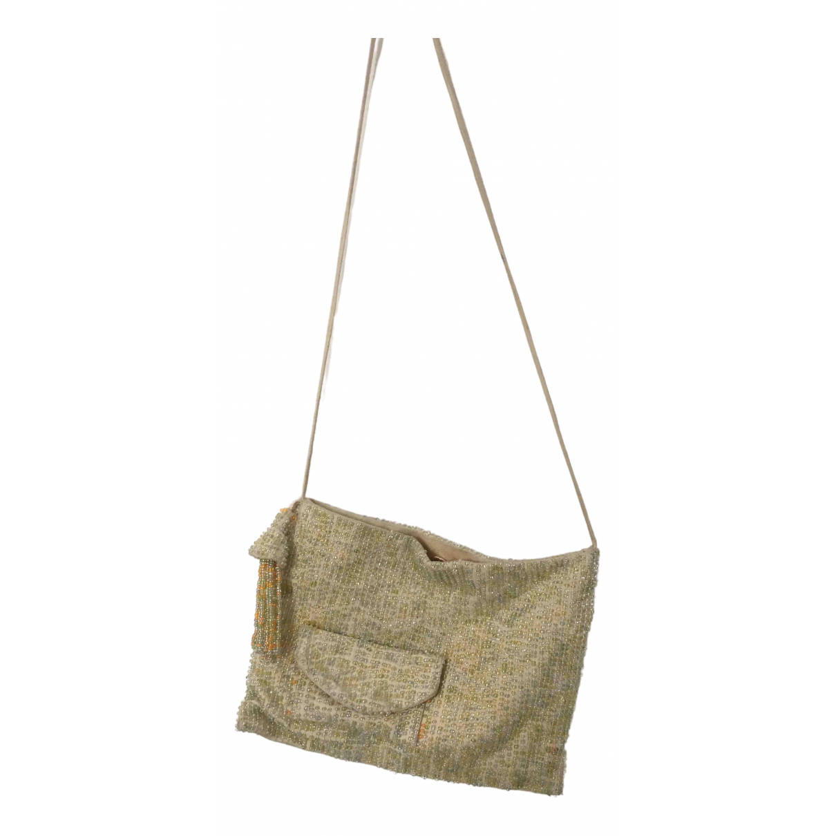 Paloma Wool N Beige Cloth Clutch bag for Women N