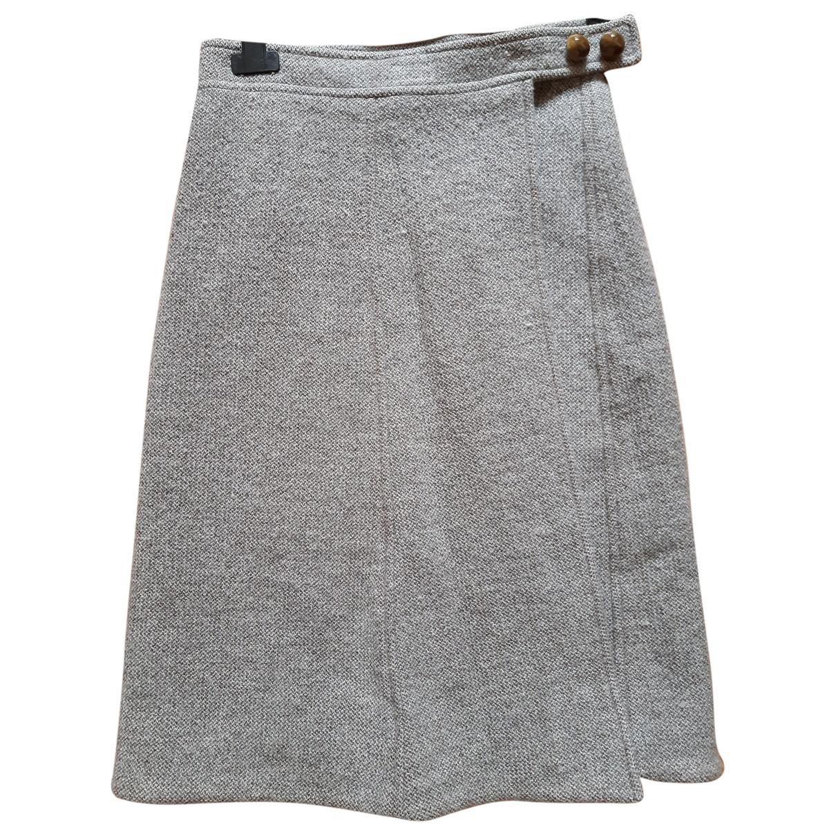 Sonia Rykiel - Jupe   pour femme en laine - beige