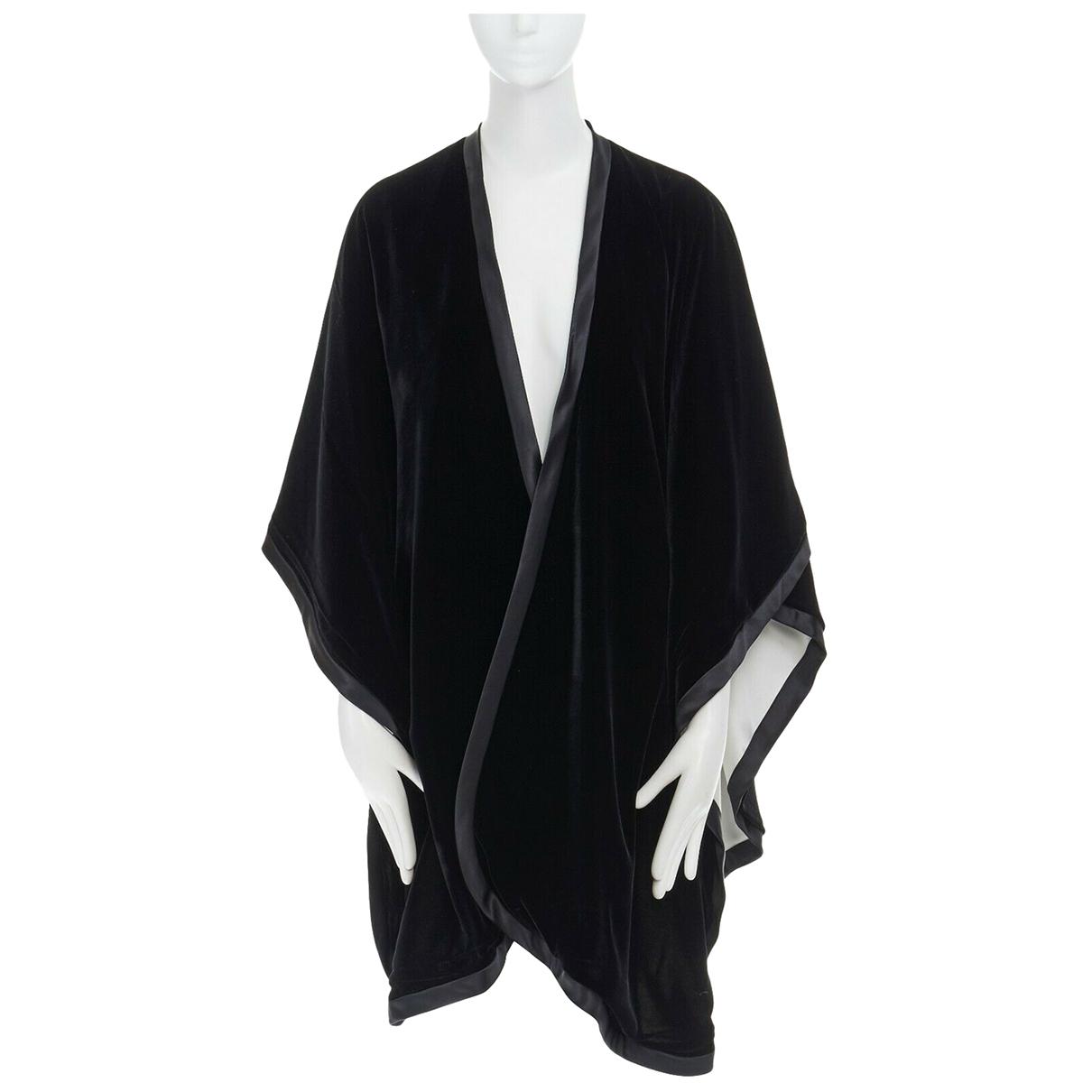 Adrienne Landau \N Black Silk jacket for Women S International
