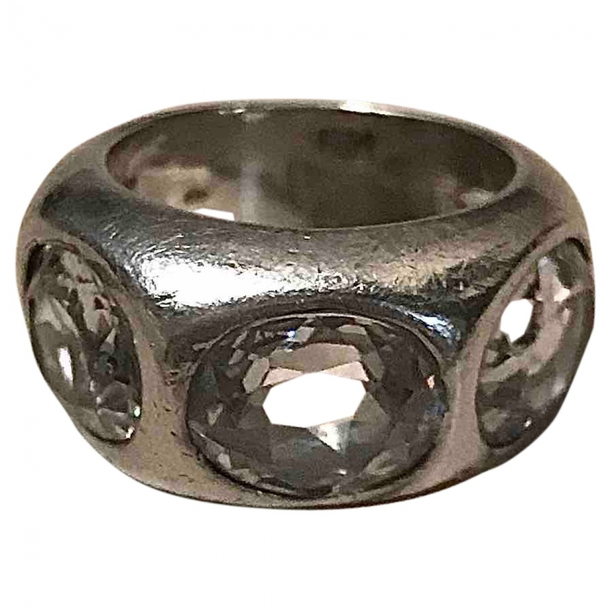 Non Signé / Unsigned Bagues Cocktails Silver Silver ring for Women 52 MM