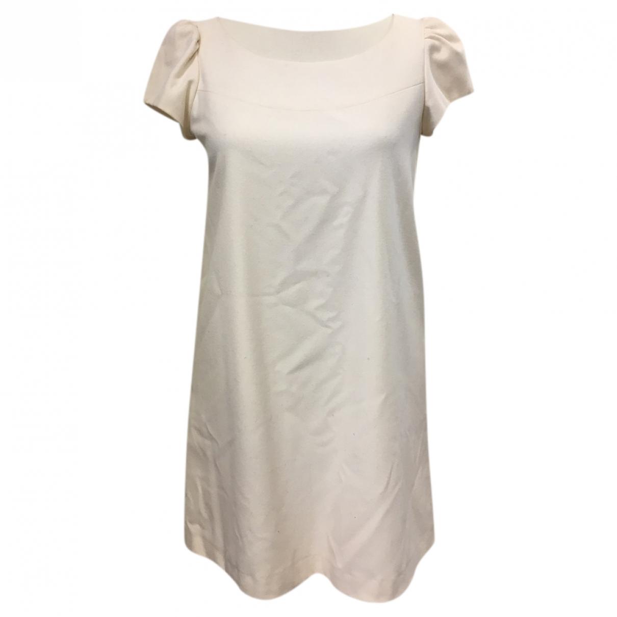 Tara Jarmon \N Kleid in  Ecru Wolle