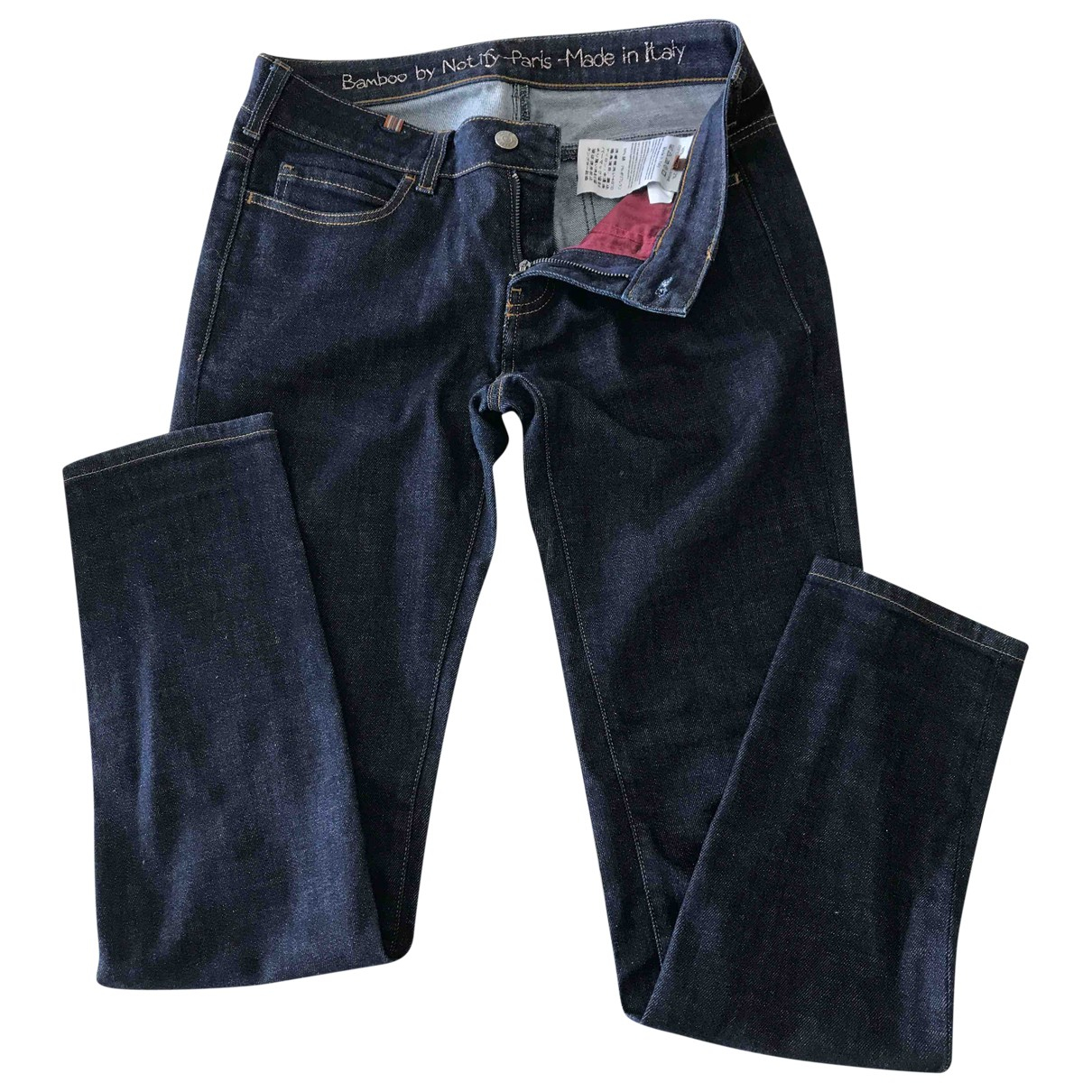 Notify \N Blue Cotton - elasthane Jeans for Women 28 US