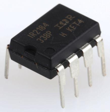 Infineon IR2184PBF Dual Half Bridge MOSFET Power Driver, 2.3A 8-Pin, PDIP