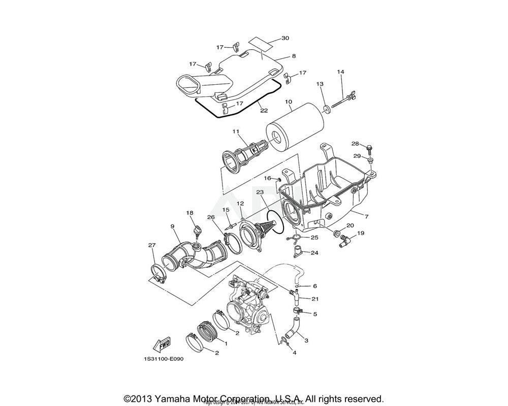 Yamaha OEM 5KM-14419-00-00 PIPE