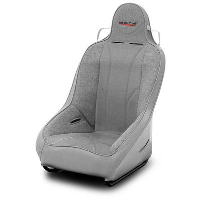 MasterCraft Safety 1 Inch WIDER PRO 4 Front Seat with Fixed Headrest (Gray) - 565119