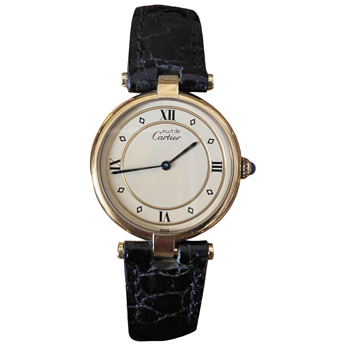 Reloj Must Vendome  de Bermellon Cartier