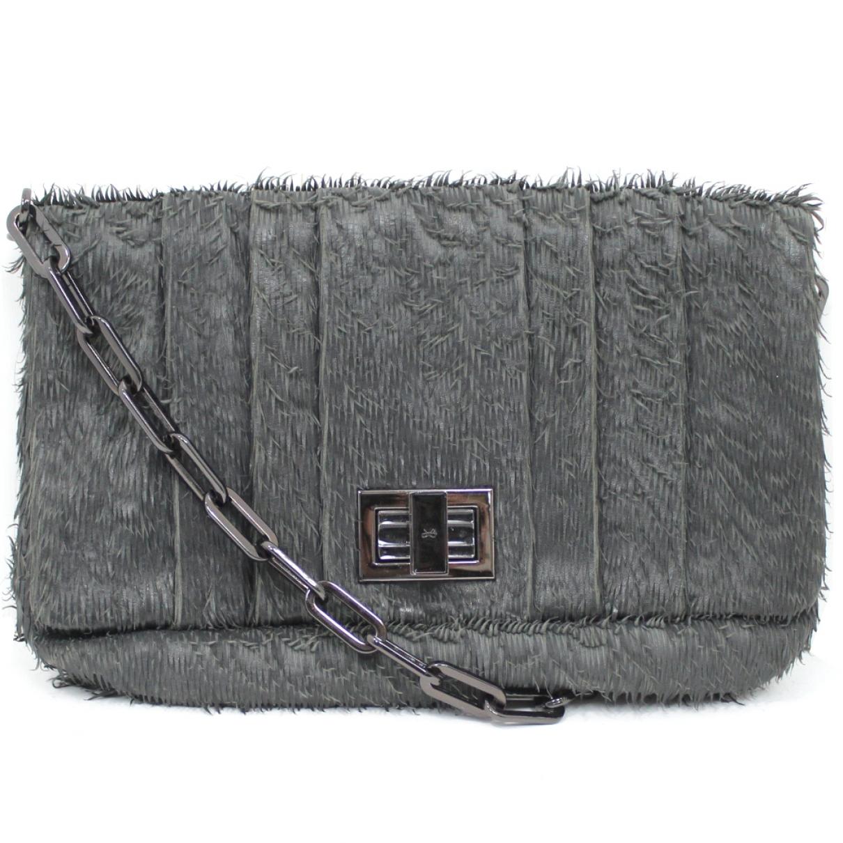 Anya Hindmarch \N Handtasche in  Grau Leder