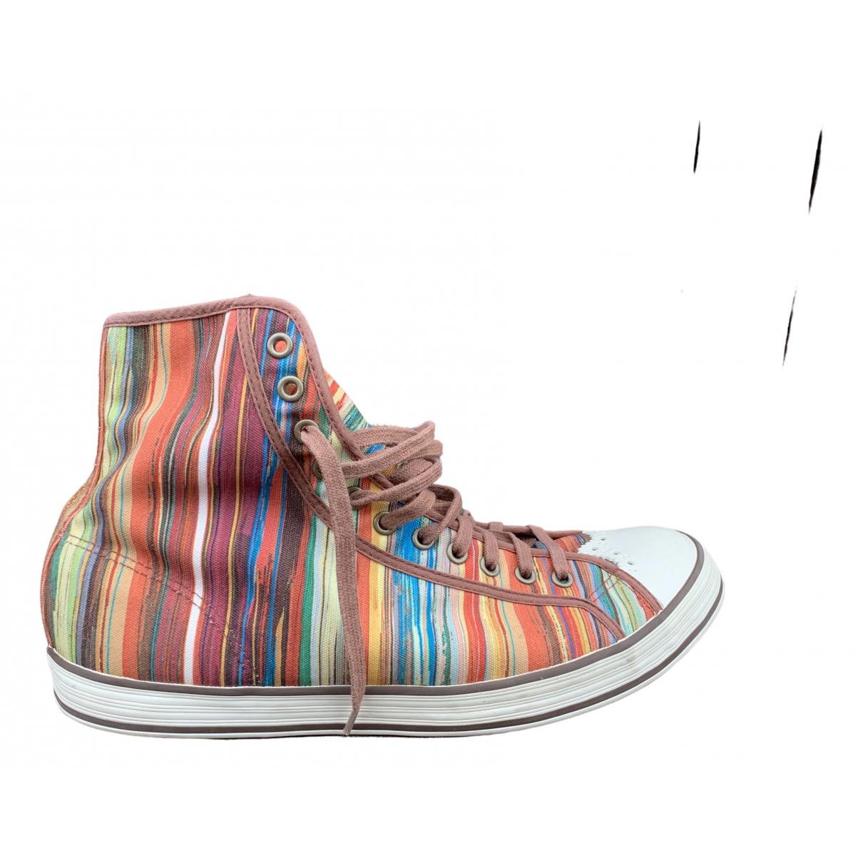 Paul Smith - Baskets   pour homme en toile - multicolore