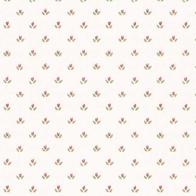 Lauderdale Floral Wallpaper (Green and Off White)