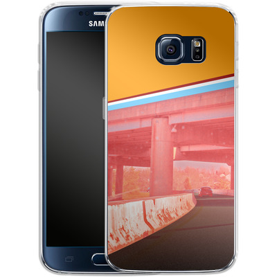 Samsung Galaxy S6 Silikon Handyhuelle - Bridge von Brent Williams