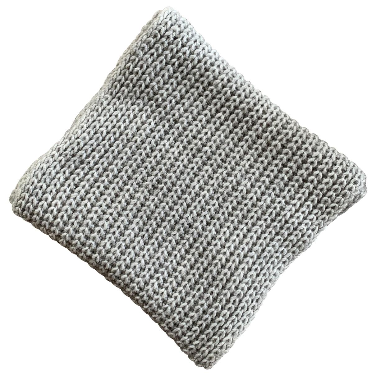 Zadig & Voltaire - Foulard   pour femme en laine - gris