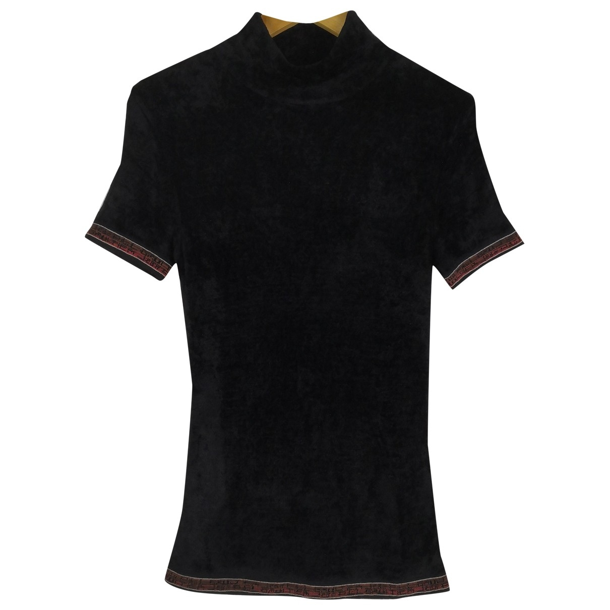 Jean Paul Gaultier \N Black Velvet  top for Women M International