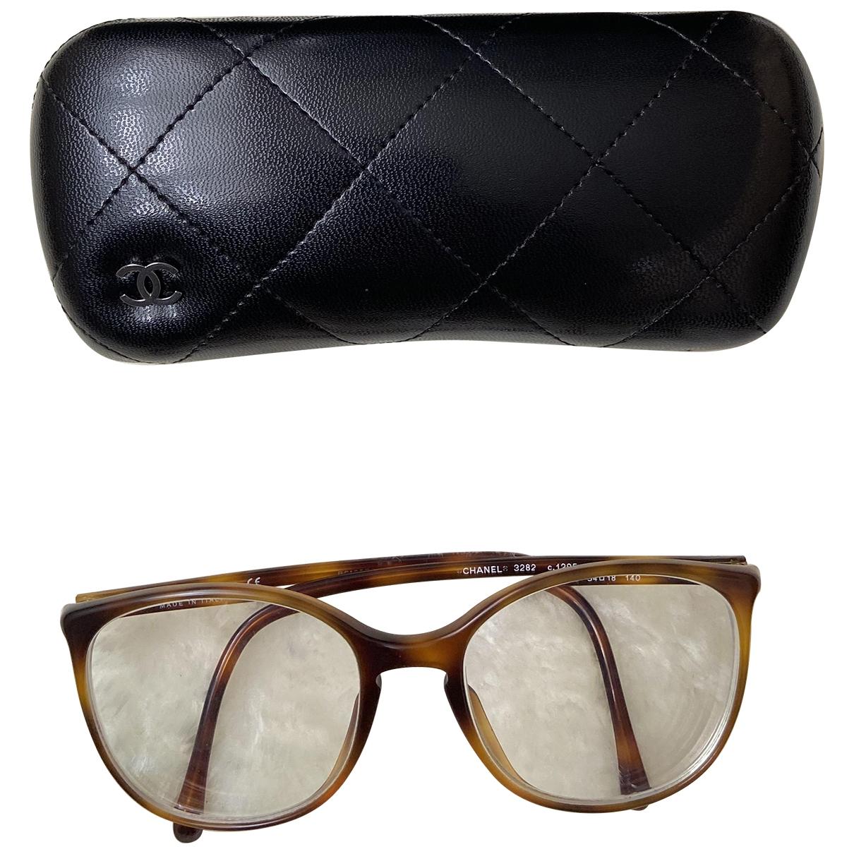 Chanel \N Sonnenbrillen in  Braun Kunststoff