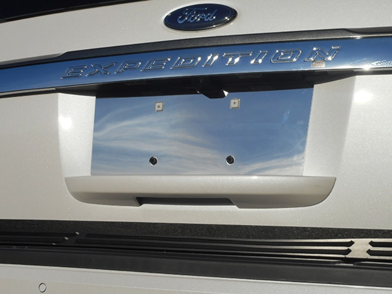 Quality Automotive Accessories License Plate Bezel Ford Expedition SUV 15-17