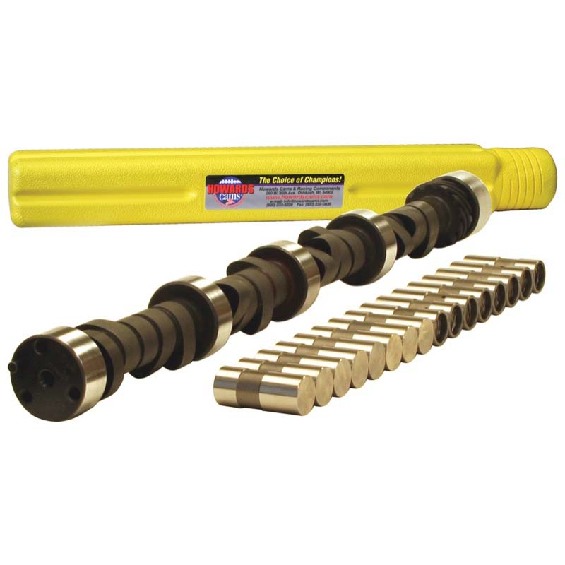 Hydraulic Flat Tappet Camshaft & Lifter Kit; 1955 - 1998 Chevy 262-400 2200 to 6200 Howards Cams CL112431-08 CL112431-08