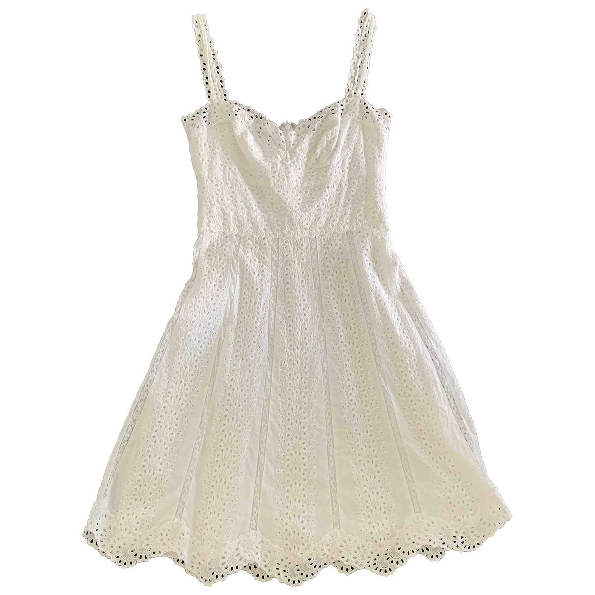 Collette Dinnigan \N White Cotton dress for Women S International