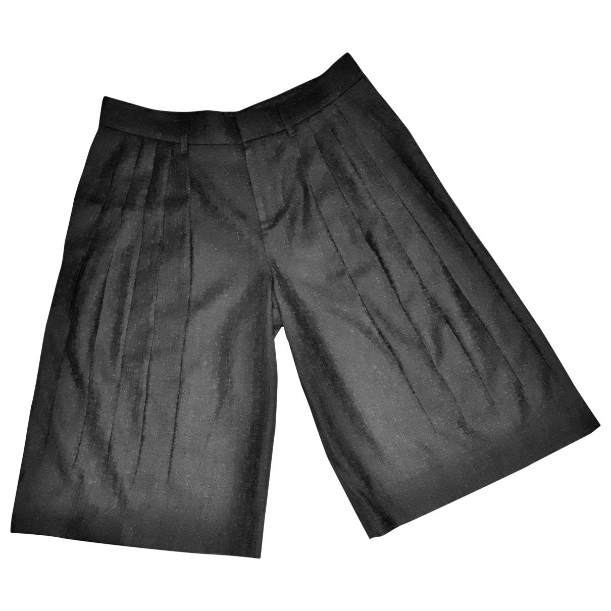 Gucci \N Grey Wool Trousers for Women 40 IT