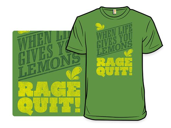 Rage Quit T Shirt