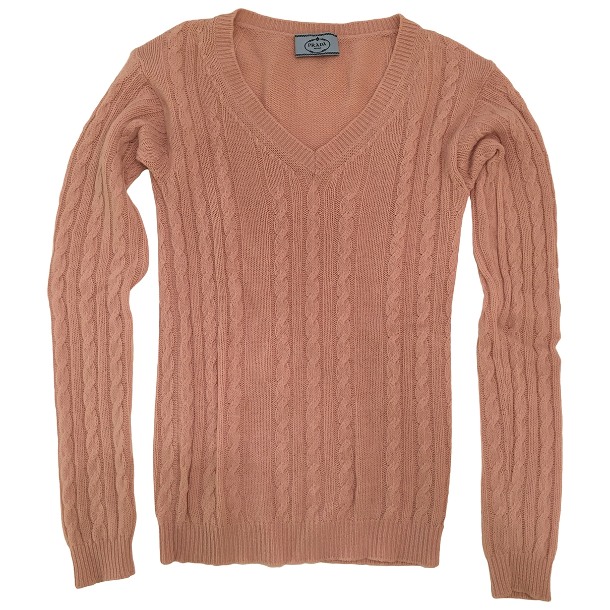 Prada \N Pink Wool Knitwear for Women 40 IT