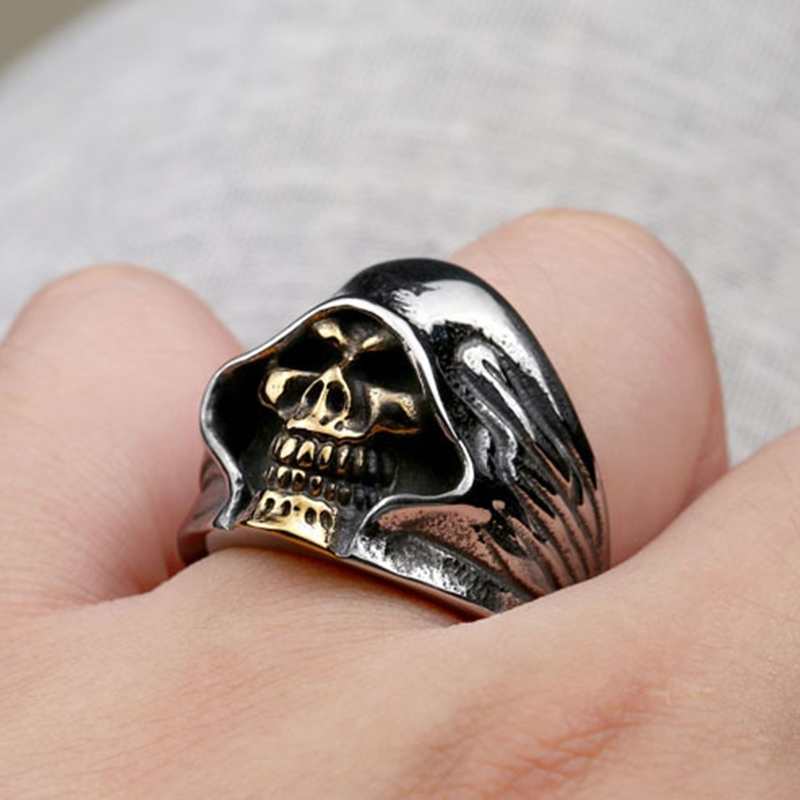 Ericdress Skull Death Ring
