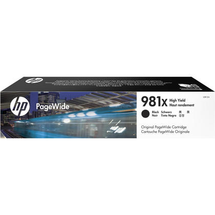 HP 981X L0R12A Original Black PageWide Ink Cartridge High Yield