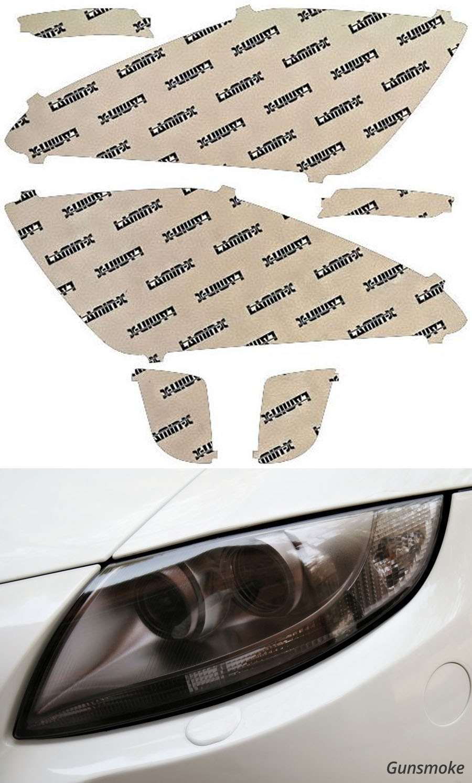 Cadillac XTS 13-17 Gunsmoke Headlight Covers Lamin-X CD015G