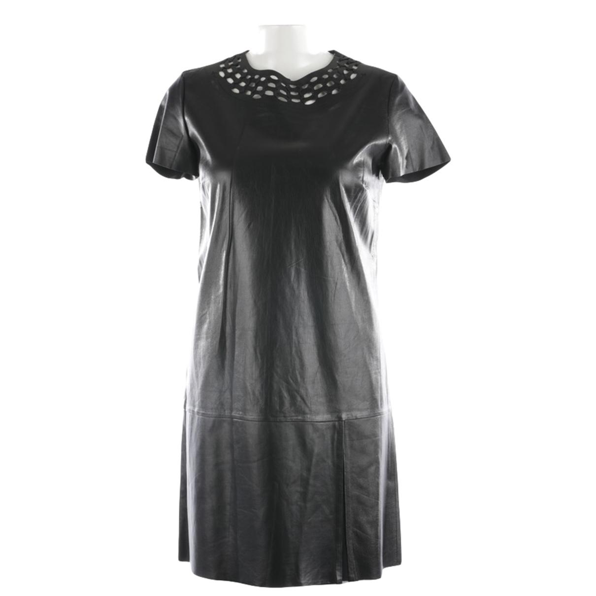 Vestido de Cuero Diane Von Furstenberg