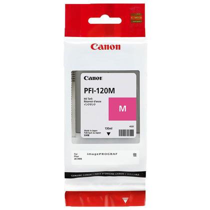 Canon PFI-120M 2887C001 Original Magenta Toner Cartridge