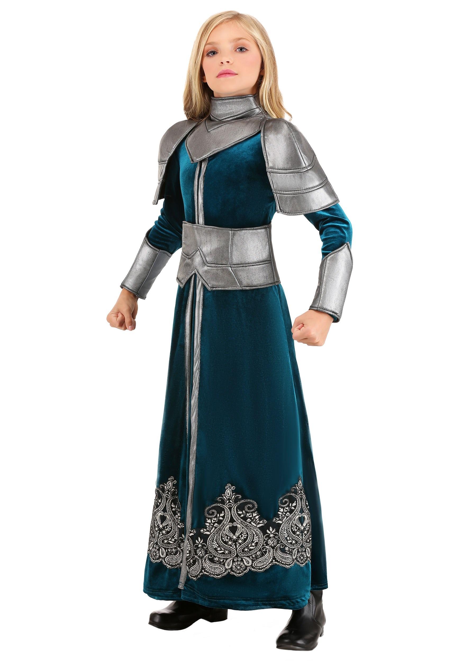 Medieval Warrior Costume for Girls