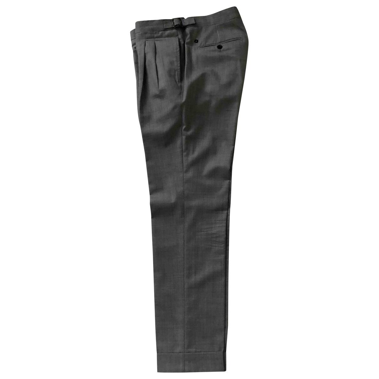 Pantalon de Lana Lardini
