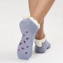 Fuzzy Ankle Socks