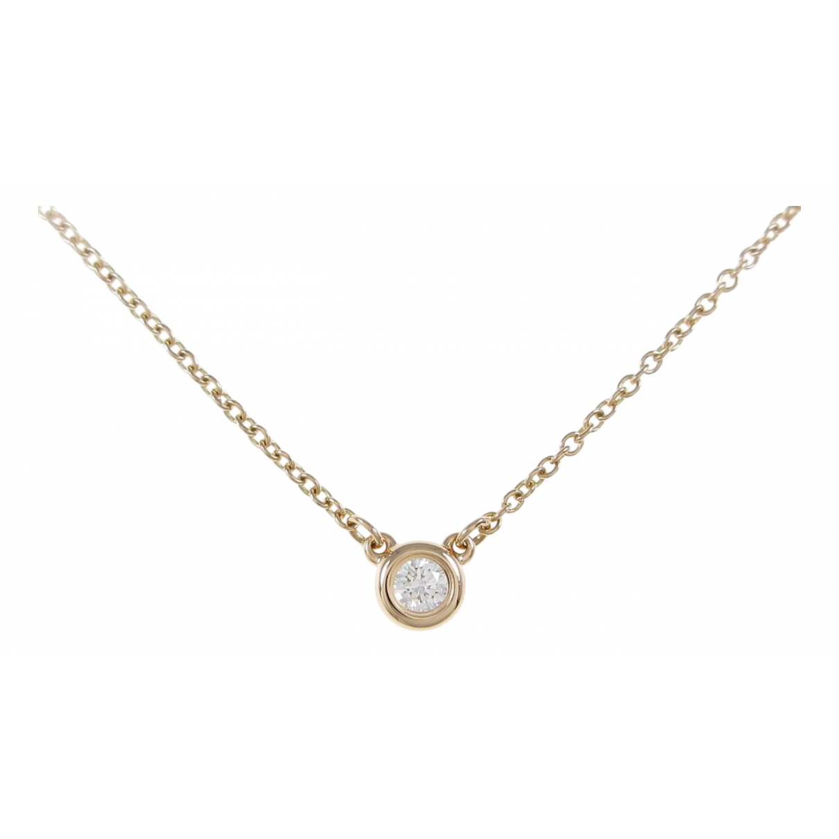 Collar Elsa Peretti  de Oro rosa Tiffany & Co