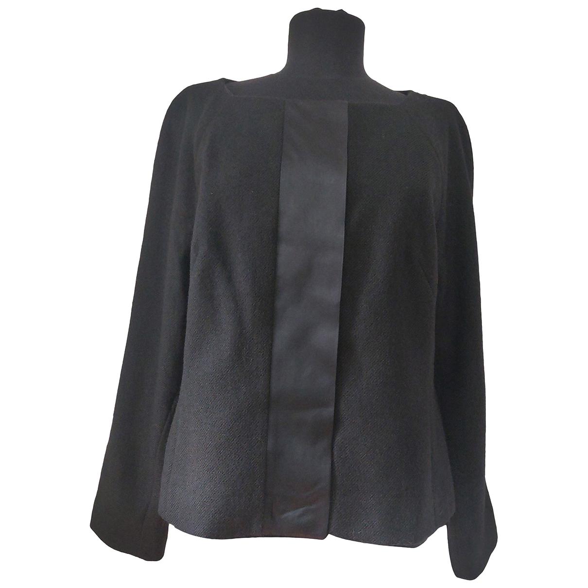 Cyrillus - Veste   pour femme en laine - noir