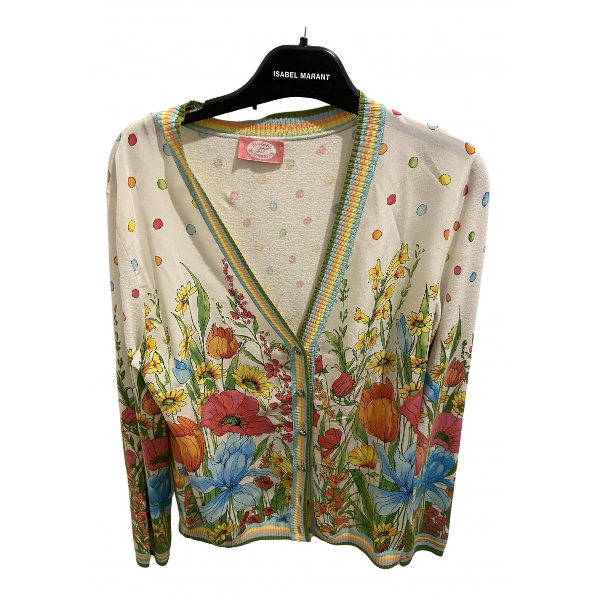 Blumarine - Top   pour femme en soie - multicolore