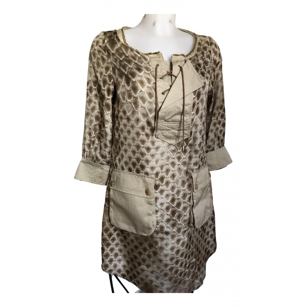 Coast Weber & Ahaus - Robe   pour femme en soie - beige