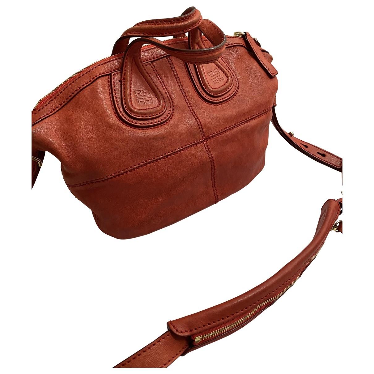 Givenchy - Sac a main Nightingale pour femme en cuir - rouge