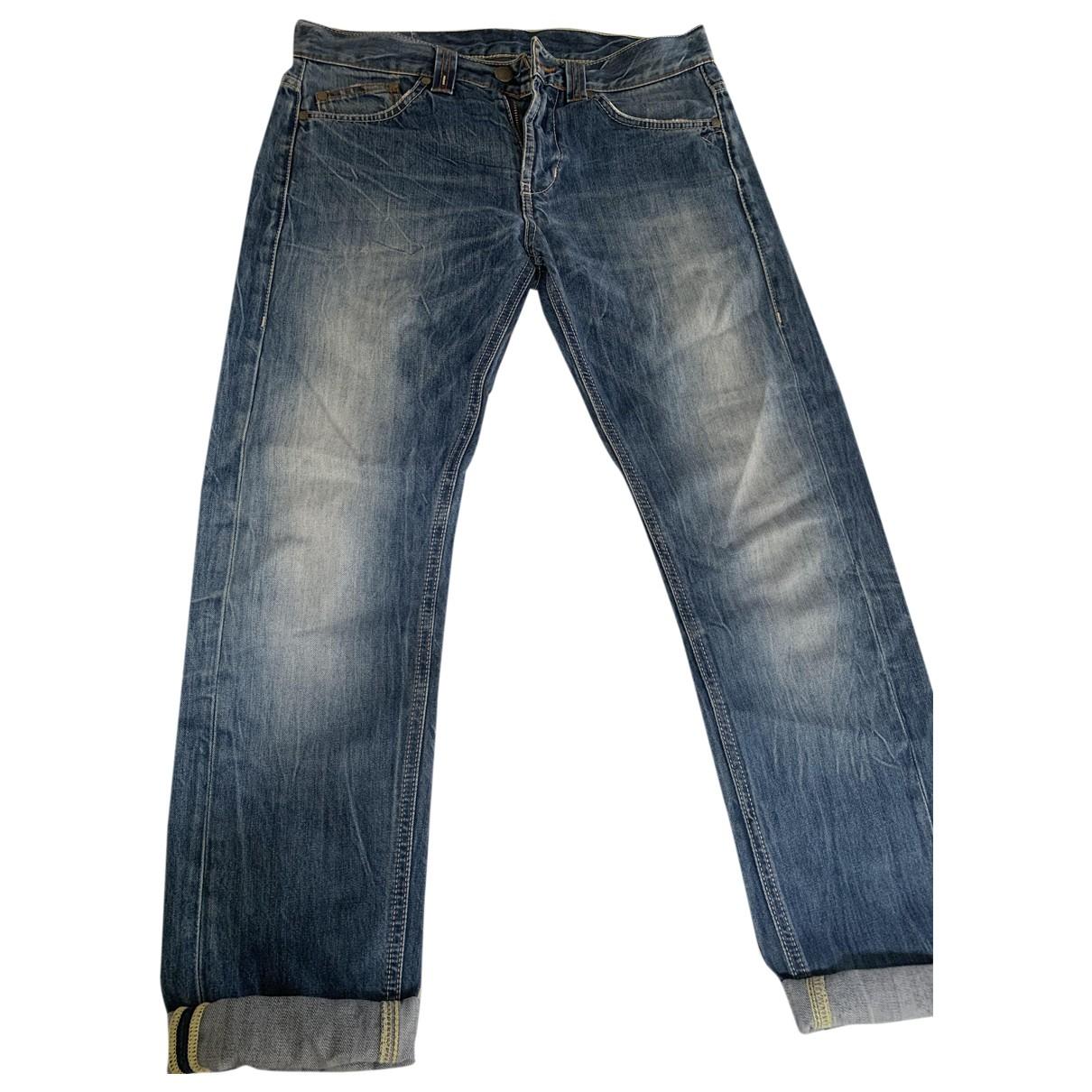 Dondup \N Blue Denim - Jeans Trousers for Men 32 UK - US