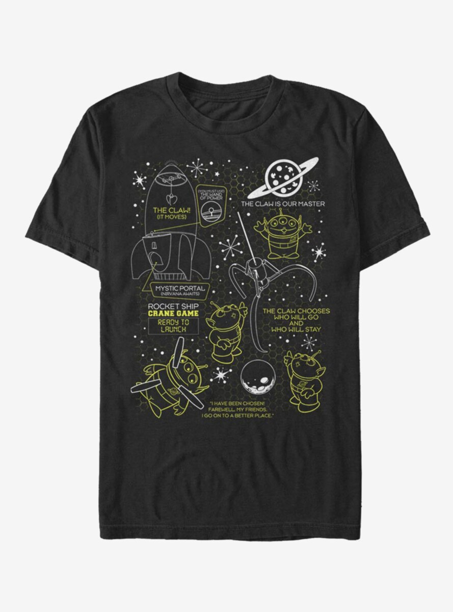 Disney Pixar Toy Story The Claw T-Shirt
