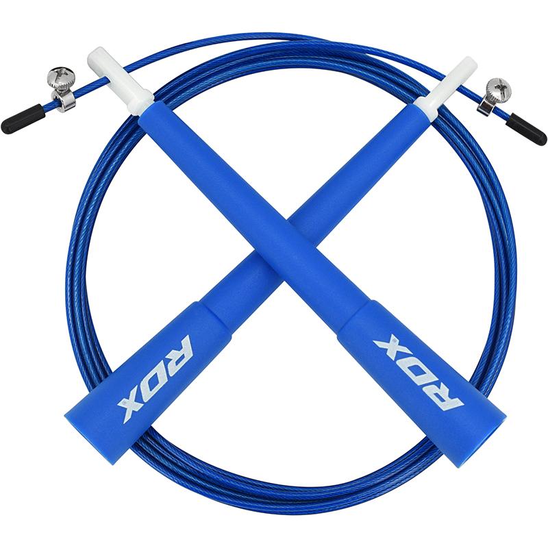 RDX C8 Cordes a sauter Bleu Plastique