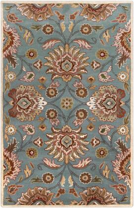 Caesar CAE-1052 5' x 8' Rectangle Traditional Rug in