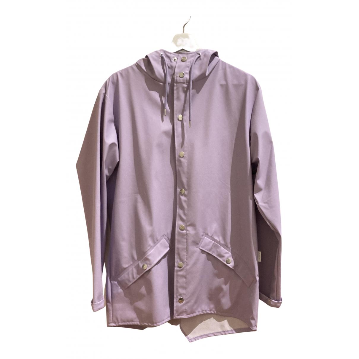 Rains - Manteau   pour homme - violet