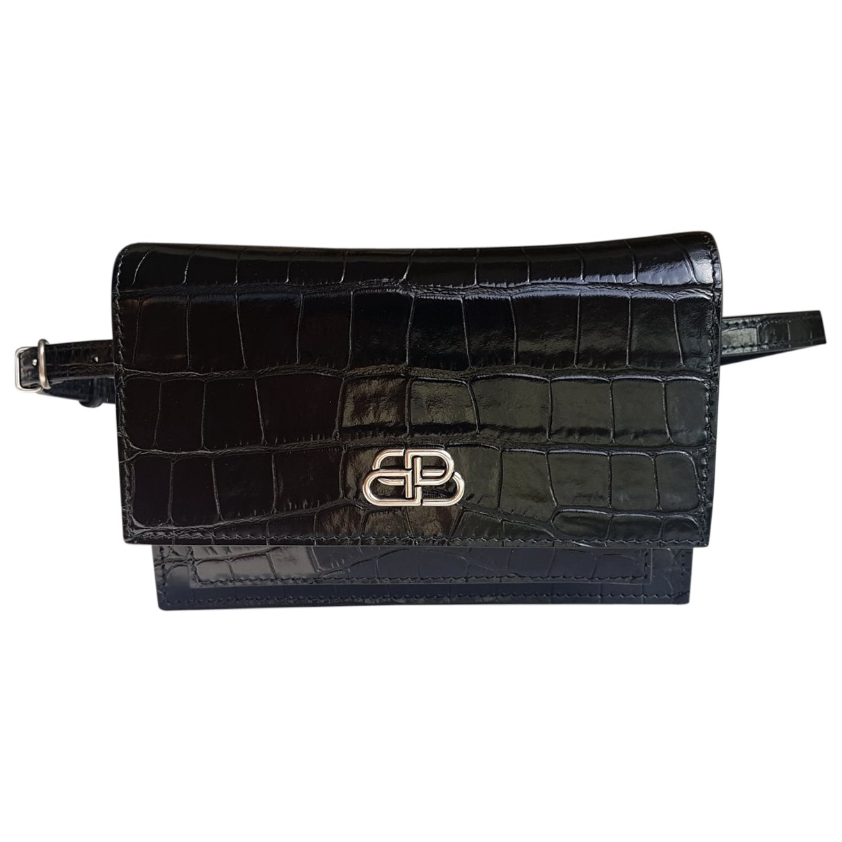 Balenciaga Sharp Black Patent leather handbag for Women \N