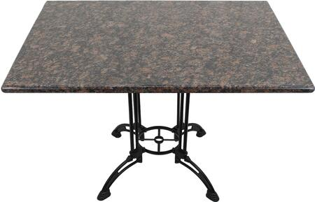 G215 30X42-CA28-34D 30x42 Tan Brown Granite Tabletop with 24